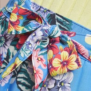 Anthropologie Shorts - NWT Maeve Anthropologie Scarf-Printed Shorts